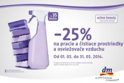 dm drogerie markt - 25% na výrobky 2d4ac0a7550